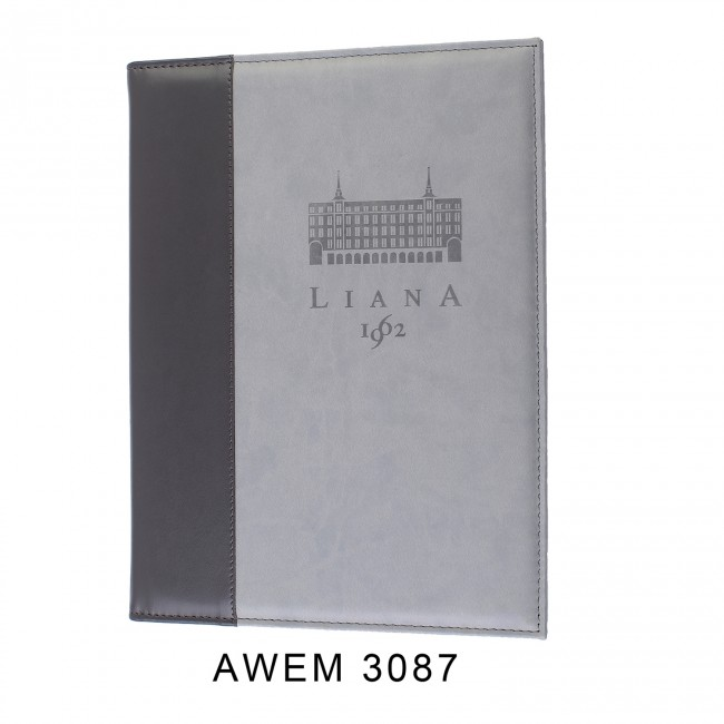 214 - AWEM3087 - Ementa Bicolor Almofadada Restaurante Liana Madrid