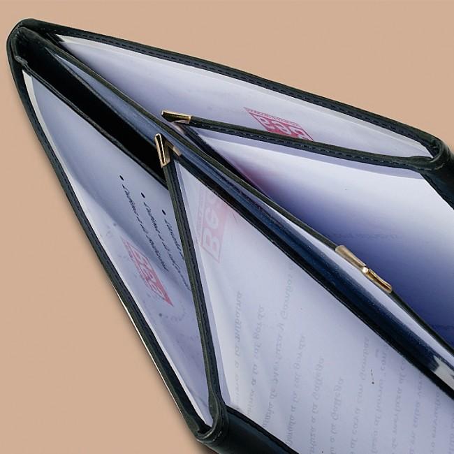 AWEM 41 Cartas Americanas A4  transparente PVC com cantos de metal