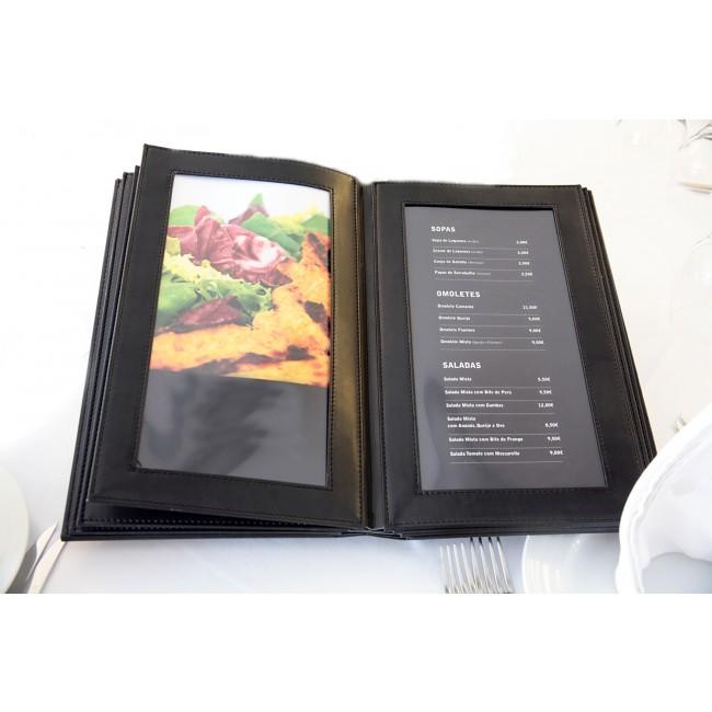 218 - AWEM120 - Ementa Capa Dura 19x32 Restaurante Rustico Entrada Nova Referencia Site
