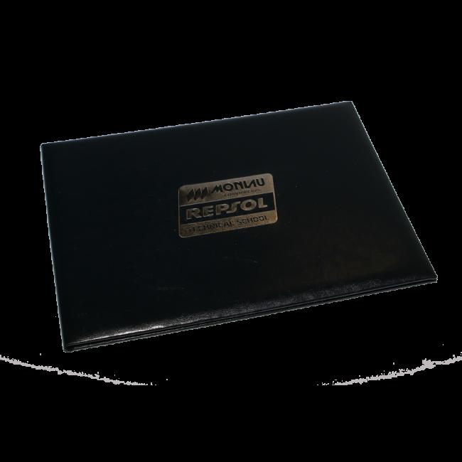30 - AWPD6593 - Porta Diplomas Especial Repsol Corredores de Motas+Barcelona