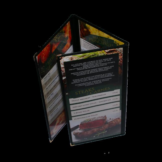 202 - AWEM6673 - 18,5X41X58,5 Cartas Americanas transparente PVC com cantos e decoraç╞o