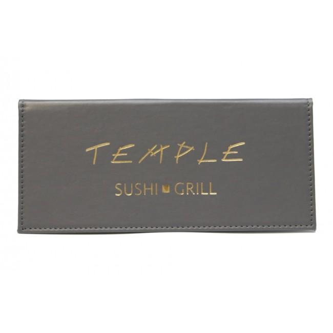 17 - AWPC6721 Porta-Contas Temple - Sushi Grill
